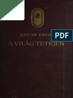Baktay Ervin a Világ Tetején