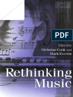 Cook Everist Rethinking Music