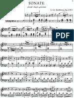 Beethoven 32 Sonate Urtext Edition Martiensen Publisher 1