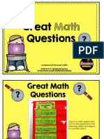 great math questions