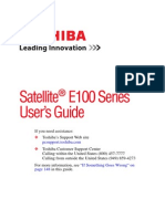 Satellite E100 Users Guide