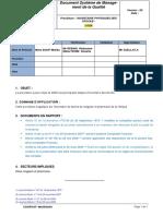 Procédure Inventaire Des Stocks 23 07 2016