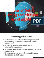 online gaming and excessive use of gadgets.pptx