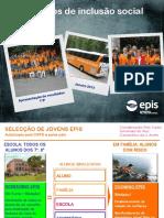 Apres.resultados ÉVORA - STA CLARA 1ºP - Screening