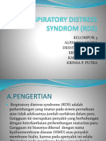 Respiratory Distress Syndrom (Rds)
