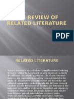 The Review of Related Literature