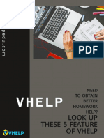 Need to obtain better homework help? Look up these 5 features of Vhelp