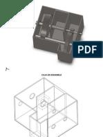 Planos y Dibujos de Una Caja Reductora de Velocidades