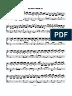Prelude and Fugue No.6 d Minor BWV 851