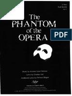 Phantom of the Opera score