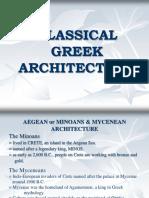 Greek Architecture 1