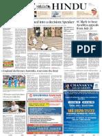 24-04-2017 - THE HINDU   Bharatiya Janata Party   Narendra Modi