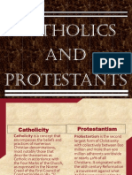 History Catholics and Protestants(power point presentation) class 11