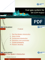 Training Fuel Gas System