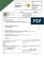 C1ES SHERYLL General Quality Form Job Description GQF 08 1