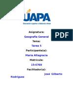 Tarea 5 Geografia General