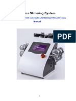 Cavitation RF Vaccumm EMS
