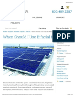 When Should I Use Bifacial Modules? | CivicSolar
