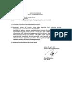 Surat Rekomendasi Bencana Tw i