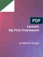 Laravel First Framework