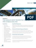 Product Sheet CAESAR II 2018
