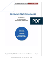 Discriminant Function Analysis