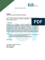 Carta Para Radicado en CARDER Concesion Pozo y Permiso Vertimientos