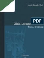 Cidade Linguagem e Tecnologia Livro