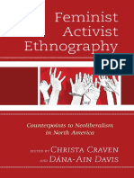 CRAVEN y DAVIS Feminist Activist Ethnography Counterpoints to Neoliberalism in North America