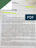 Titular de la Fadea envió carta al ministro de Defensa de Guatemala.