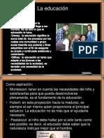 Concepto y Funciones de Educacion