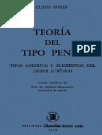 Claus Roxin - Teoria del Tipo Penal.pdf