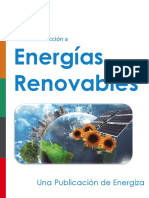 Las fuentes de energia renovable