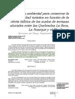 Henado, Obregon (2008) Gestión Ambiental Para Conservar La