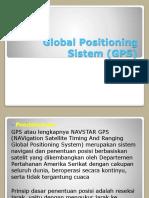 Global Positioning Sistem (GPS)