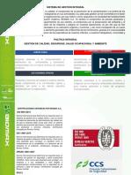 Politica Integral Pagina Web