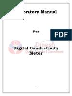 Digital Conductivity Meter Lab Manual