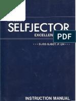 Instruction SJ-Series