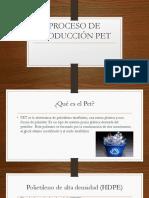 Proceso de Producción PET