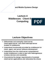 Lecture 04 Client Server