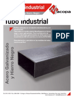 Tubo industrial metalco