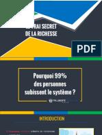 Le Vrai Secret de La Richesse TKL LFA