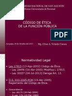 Codigo de Etica 2013