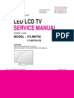 Diagramas esquematicos tv LED LG