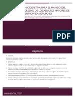 Estimulación cognitiva para el manejo del deterioro progresivo.pptx