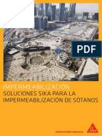 FOLLETO SOLUCIONES SIKA PARA LA IMPERMEABILIZACION DE SOTANOS.pdf
