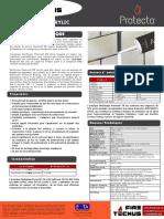 FireTecnus - Protecta Acrylic - Ficha Técnica