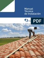 Manual de Instalacion DE COBERTURA DE TEJA