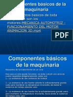 Componentes Básicos de La Maquinaria