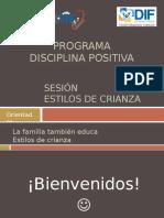 Programa - La familia también educa (Estilos de crianza).pptx